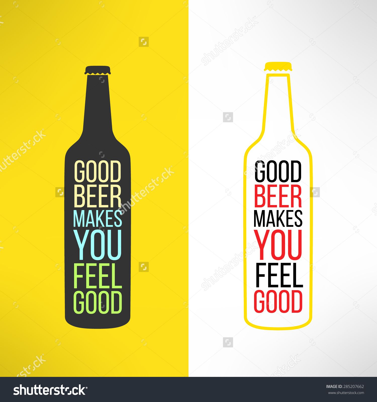 Poster design elements - Vector Beer Bottle Design Background With A Cool Slogan On It Bar Poster Design Element