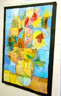 Blog Chuck Close Van Gogh mash up