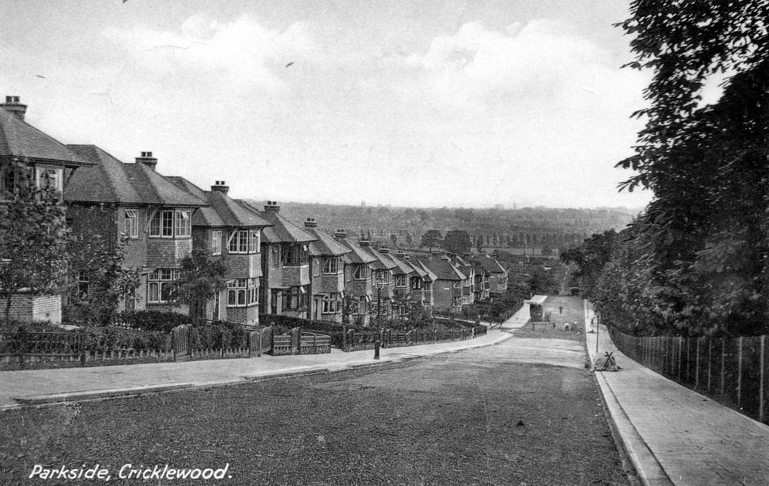 Old Postcard - Parkside Cricklewood