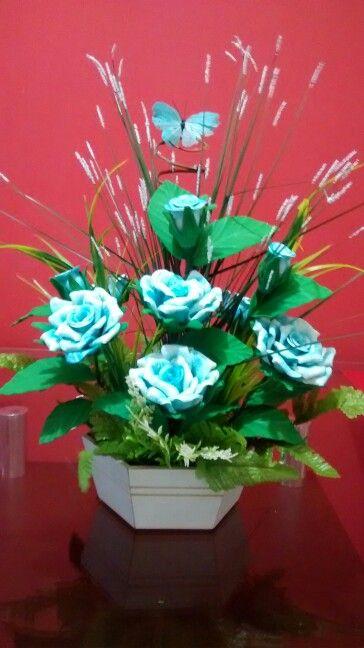 Centro De Mesa Aranjos De Flores Artificiais Arranjos De Flores