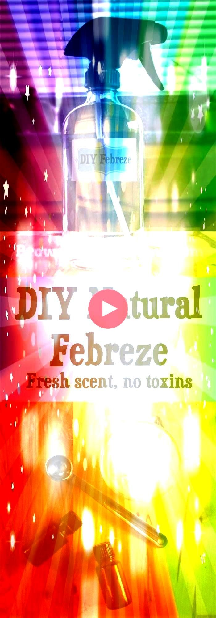 Its easy to make your own natural air freshener spray and you wont have to worry about toxic chemical residue on the babys cribon the dogs chew toyson anything at allDIY...