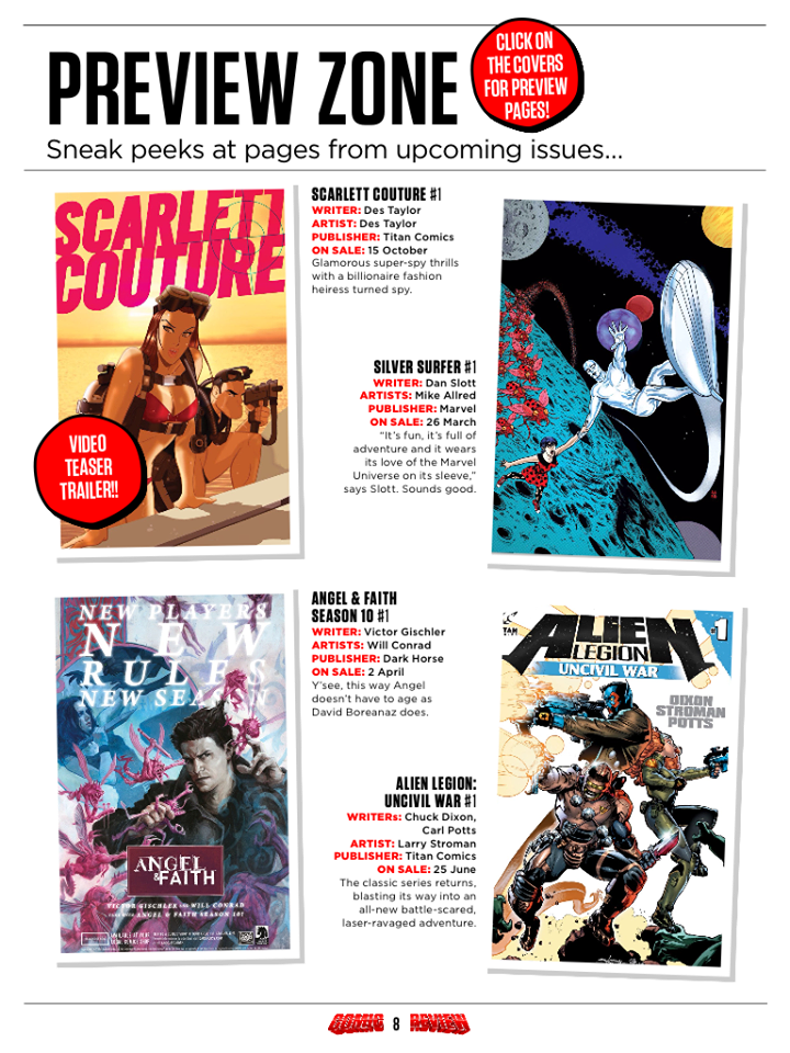 Scarlett Couture Investigations by Des Taylor Coming to you soon from Titan Comics