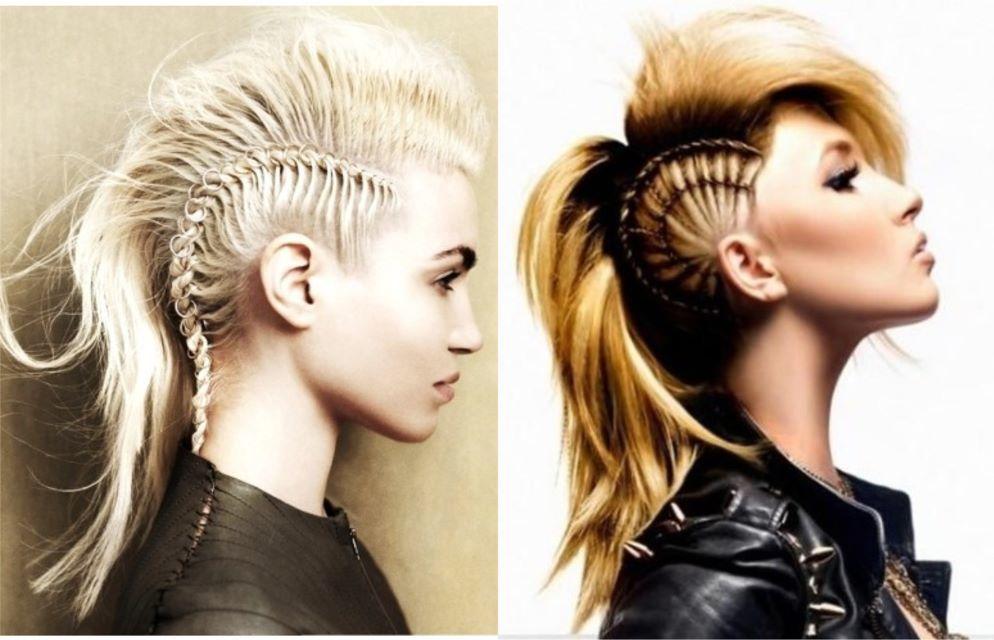 Female Mohawk Hairstyles Long Hair Mohawk Hairstyles Hair Styles Mohawk Hairstyles For Women