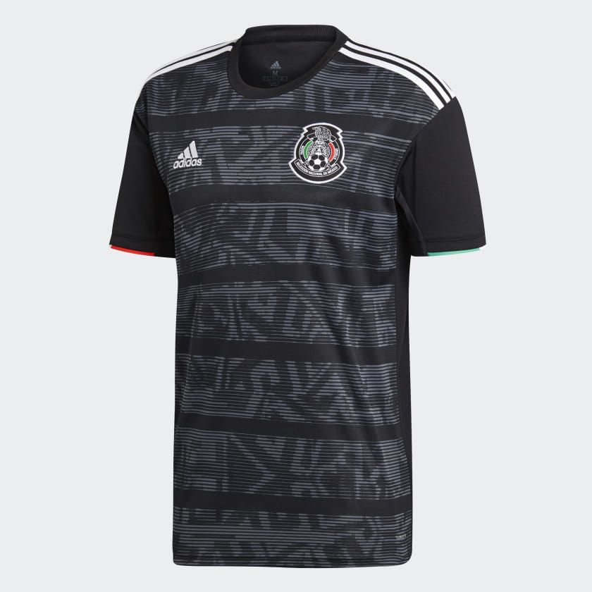 Adidas Mexico Home Jersey Black Adidas Us Soccer Shirts Soccer Jersey Adidas Men