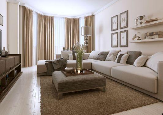 Organisation décoration salon moderne taupe idées pour la maison
