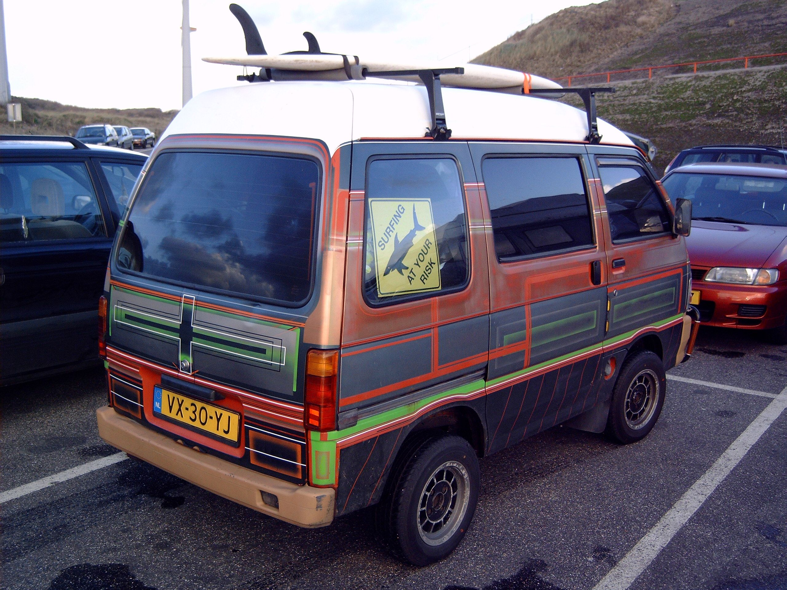 Custom Daihatsu Hijet Minitruck Kei Car With Images Kei Car