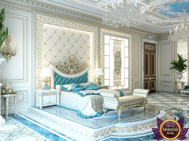 Palatial Bedroom Design Of Katrina Antonovich Picture Gallery Royal Bedroom Luxury Home Decor Luxury Interior