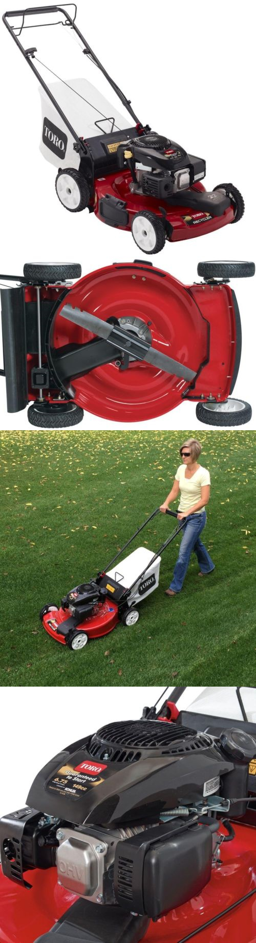 Walk-Behind Mowers 71272: Lawn Mower Grass Cutter Front Wheel Drive ...