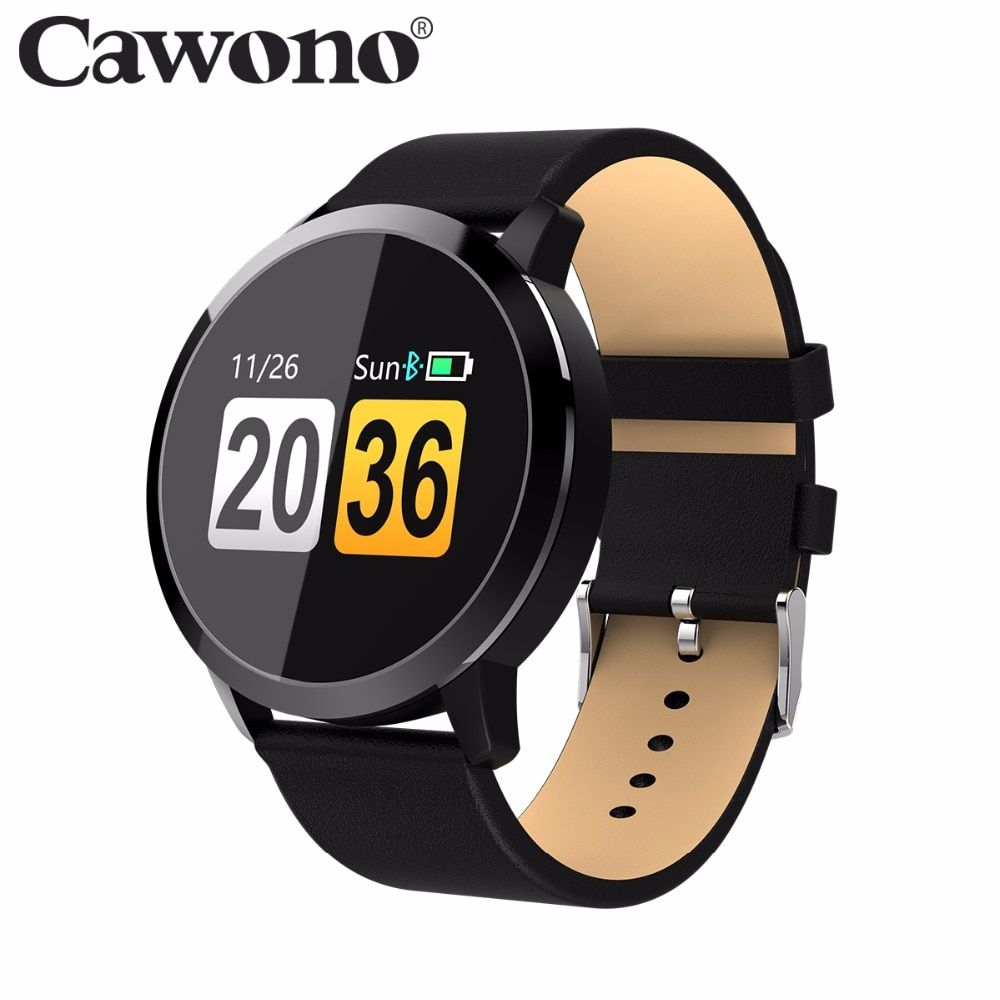 1ce1cd394c9 Cawono CW5 Color Touch Screen Smartwatch Heart Rate Monitor Smart Watch  Sport Fitness Men Women Wearable Devices for IOS Android Price  48.98    FREE ...