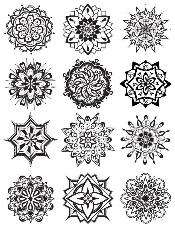 Mandala Coloring Pages Mandala coloring Sanskrit and Mandalas