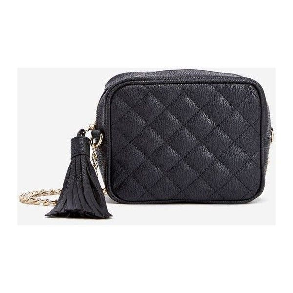Justfab Crossbody Otto Quilted Crossbody Bag 25 Liked On Polyvore Featuring Bags Handbags Shou Quilted Crossbody Bag Shoulder Strap Bag Purses Crossbody