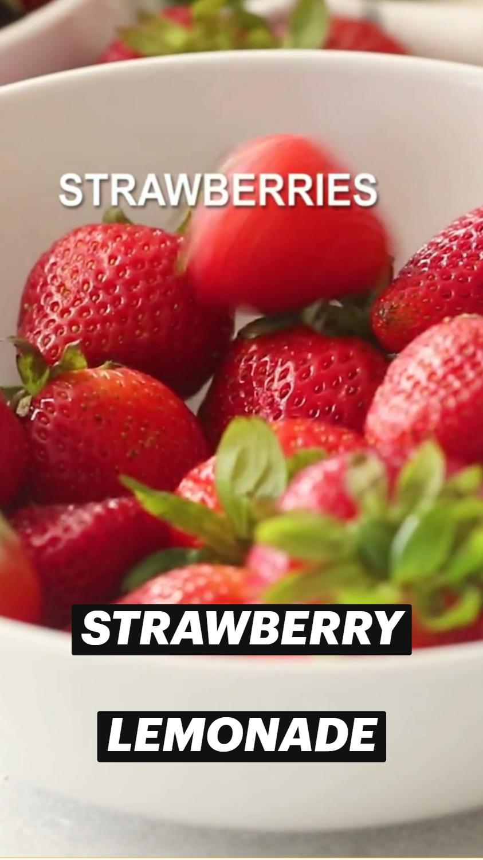 StrawberryLemonade, Refreshingly Good Drink