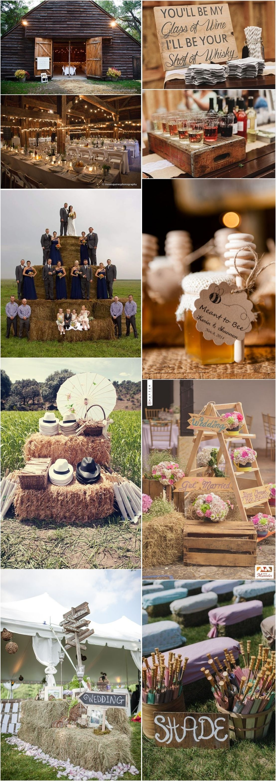 25 Gorgeous Country Rustic Wedding Ideas for
