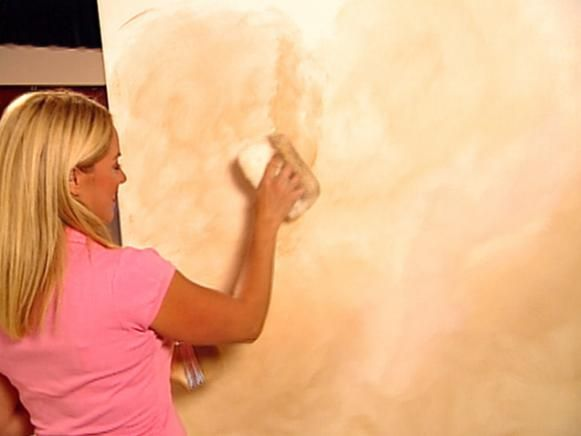 Decorative Paint Technique: Colorwashing Wall Instructions | Paint ...