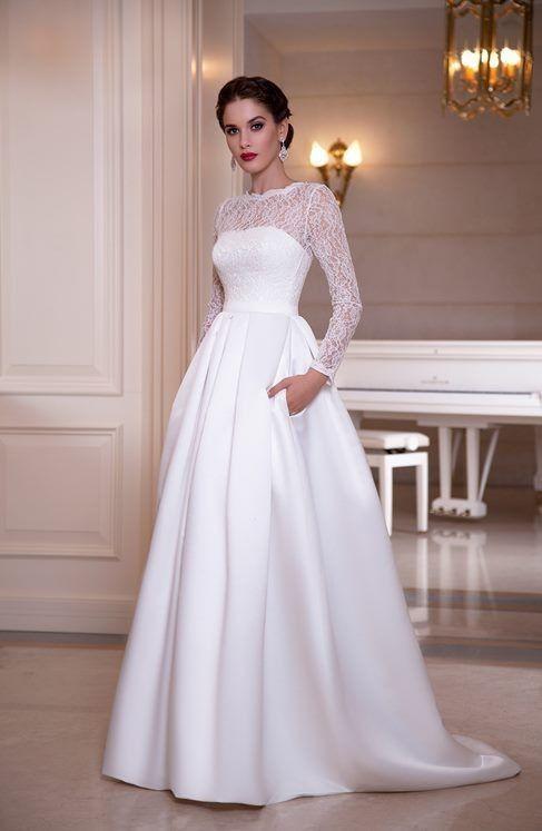1cae37679247 Abiti da sposa matrimonio civile inverno