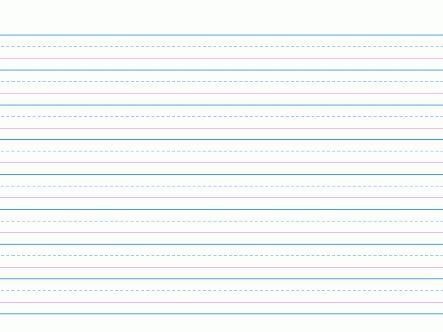 Pin On Handwriting Grid