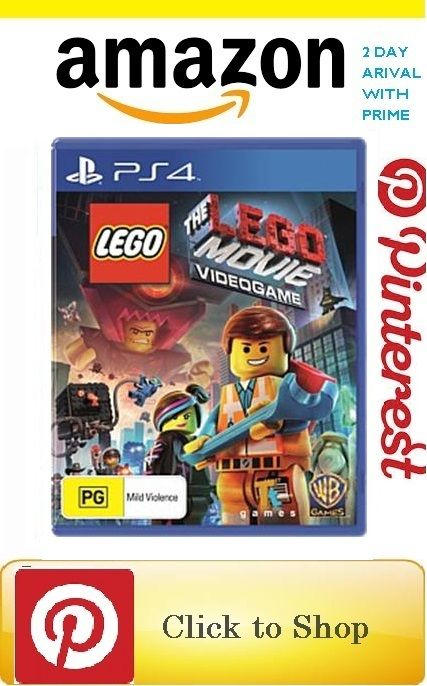 The Lego Movie Videogame All Ps4 Games Digital Video Games