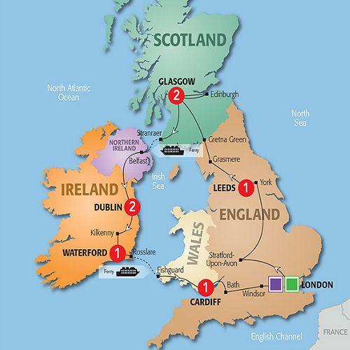 Britain Ireland Delight Trafalgar Costsaver Trafalgar Tours Ireland Scotland Travel