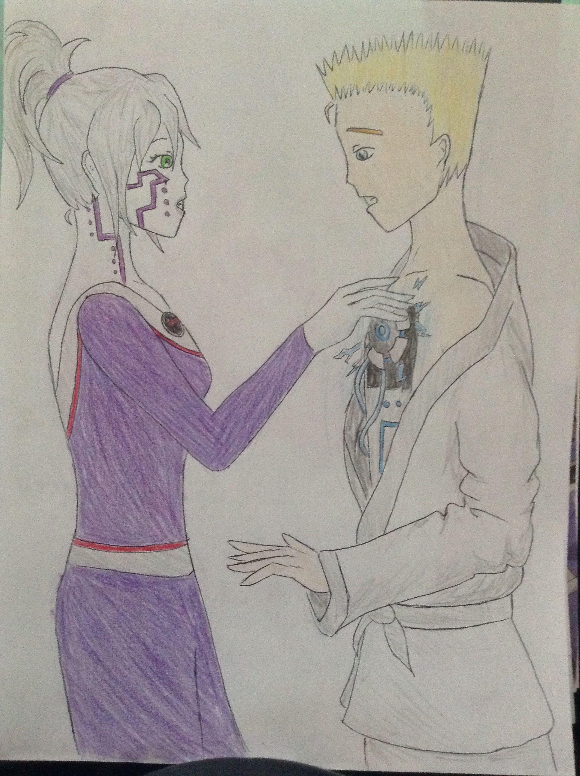 By Danisaursaysrawr Anime Zane X Pixal Ninjago Ninjago