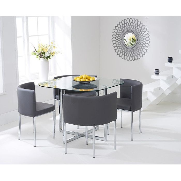 Talbingo Dining Set with 4 Chairs