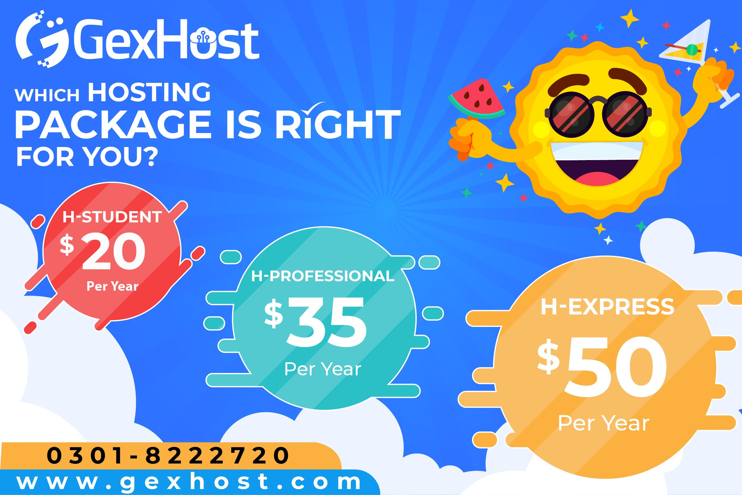 Choose the Right Hosting Package for Your Business!