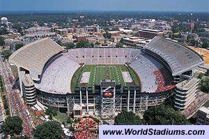 Jordan Hare Stadium Auburn Tigers 3 Auburn University Auburn