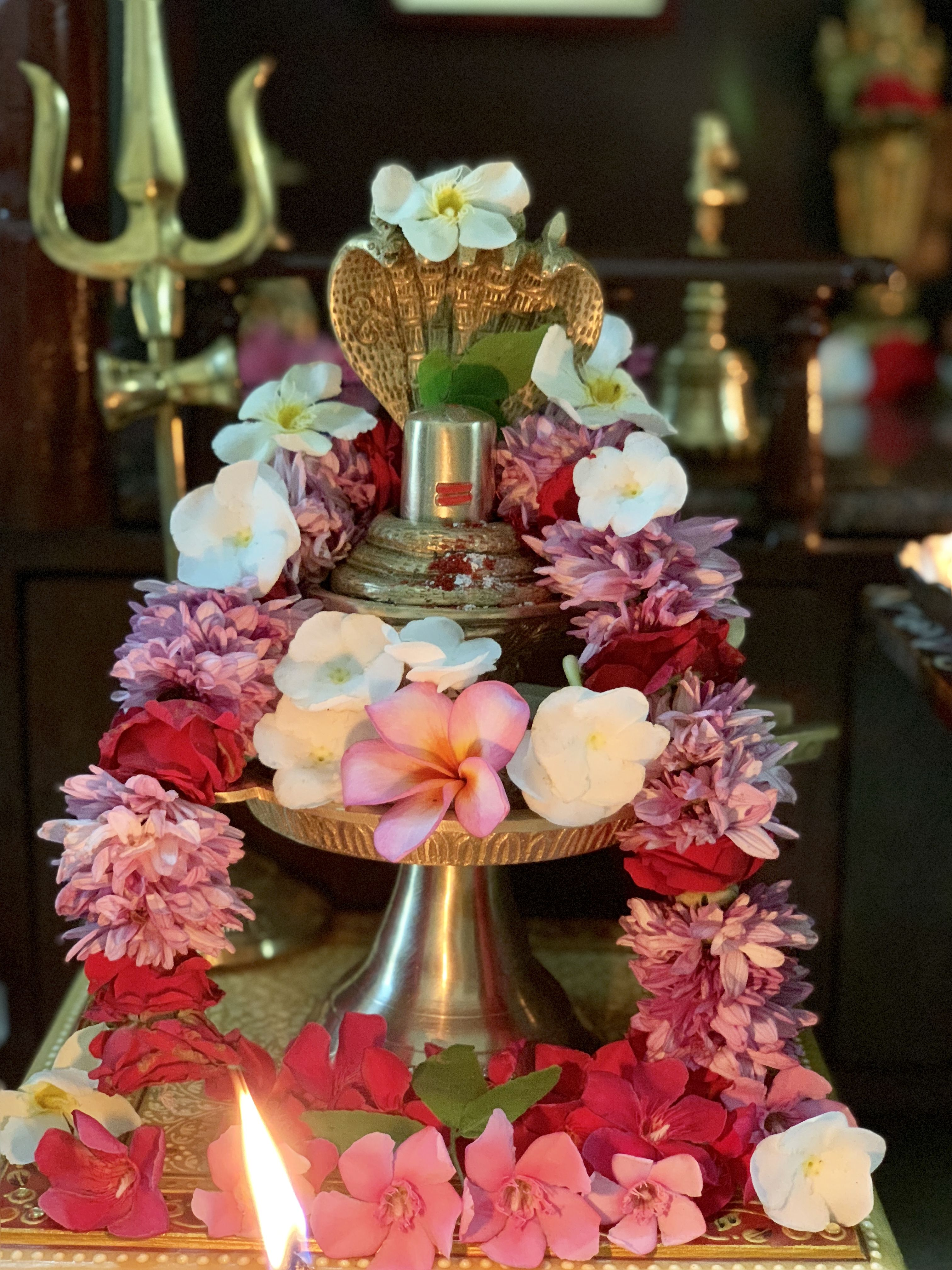 Pin by Penumatsa Neelu on Puja decorations in 2019 | Lord
