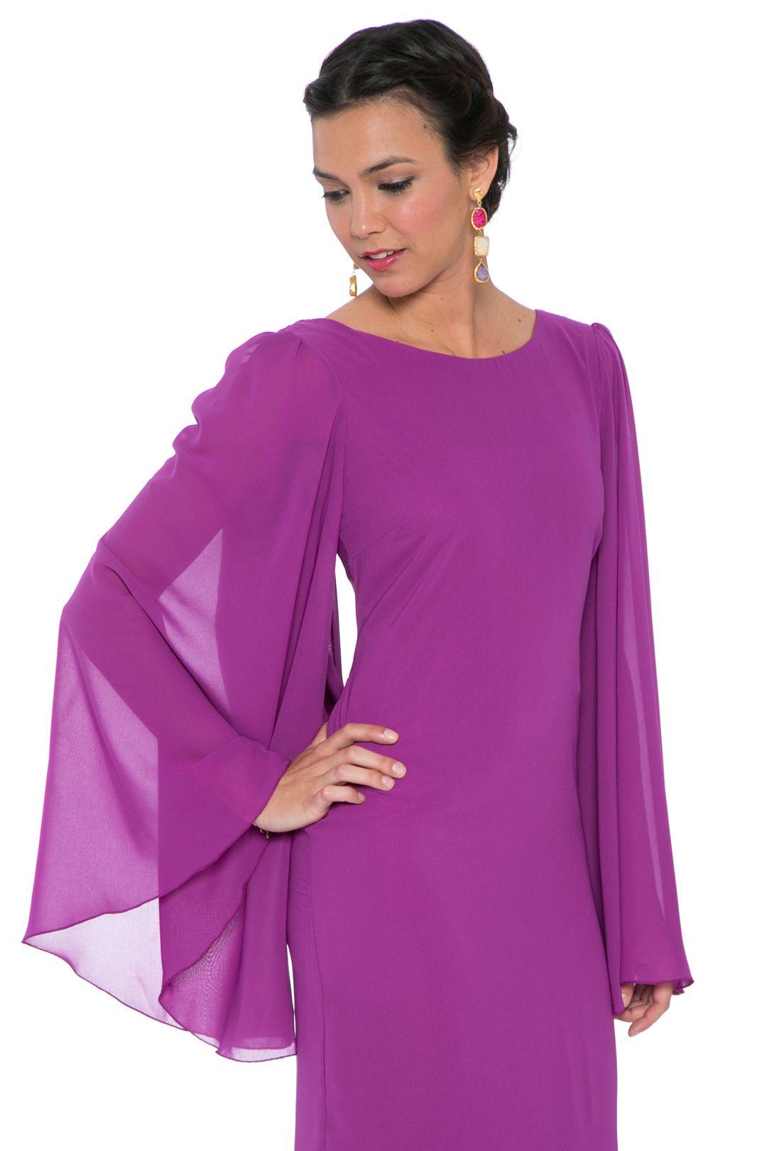 Vestido Mangas Obispo | costura y patrones | Pinterest | Alquiler de ...