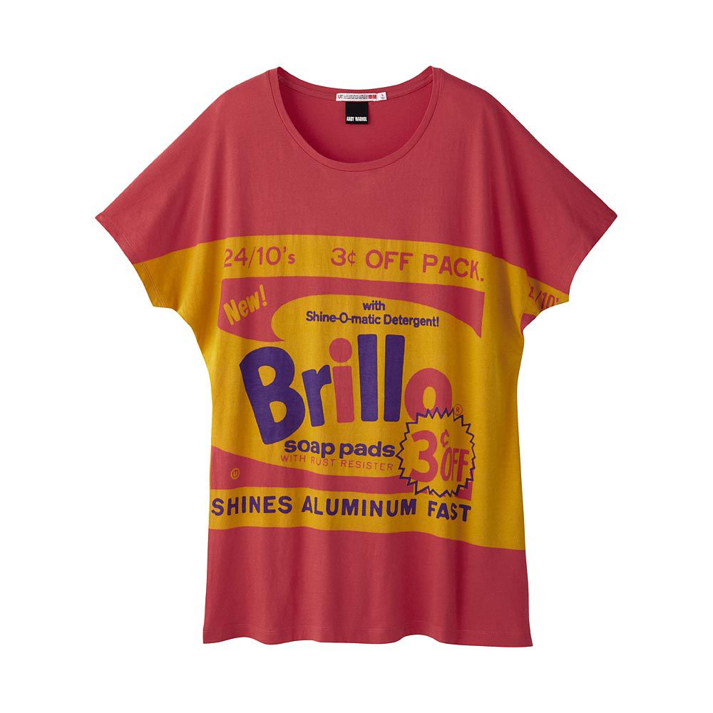 Uniqlo women andy warhol short sleeve graphic tshirt wonderful t