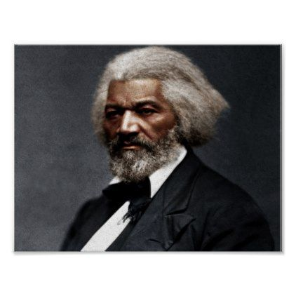 Frederick Douglass Colorized Poster