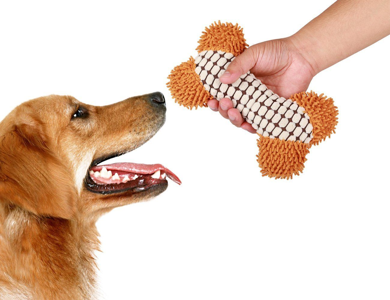 Dog Toy Squeaky Plush Dog Toy Durable For Dog Bones Toys Puppy