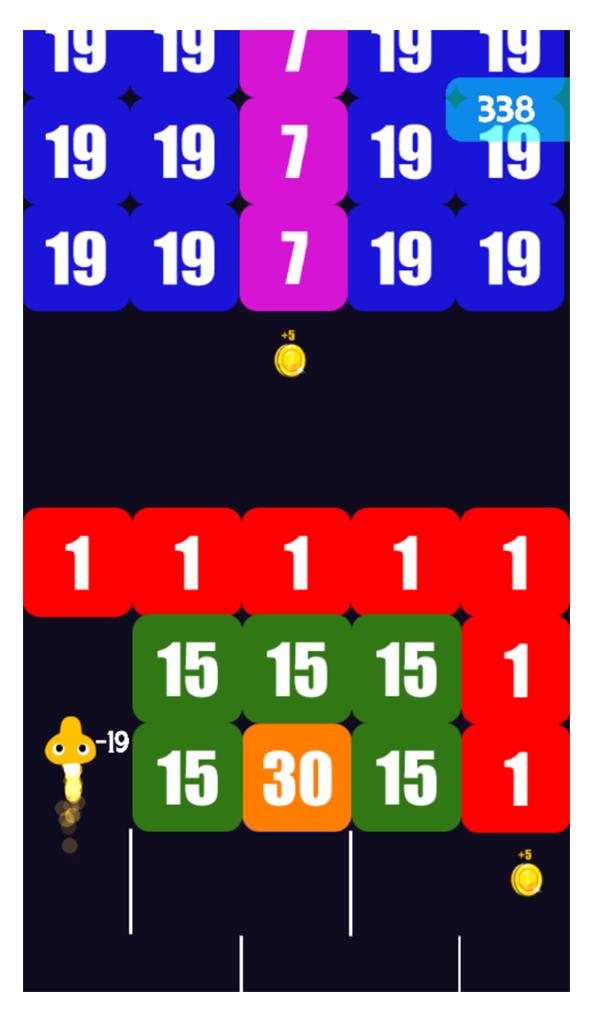 Emoji vs blocks with admob - android studio | design