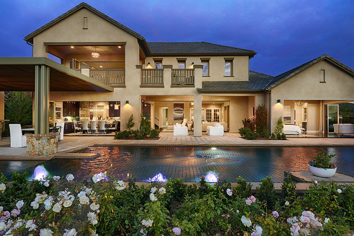 Captivating Blurring The Line Between Indoor And Outdoor Living Spaces In San Marcos. |  Reilly Model