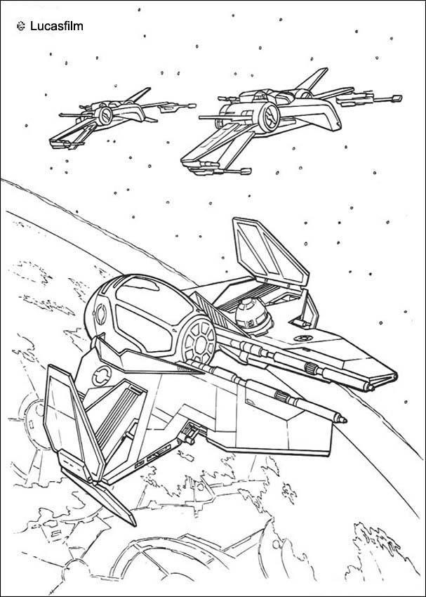 Dibujos Para Colorear Naves Star Wars Naves En El Espacio Naves De Star Wars Dibujos Páginas Para Colorear Disney