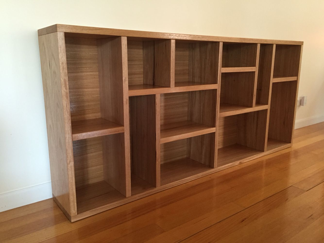 Custom Made Bookshelf Using Wormy Chestnut Timber