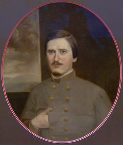 Orphan Brigade - Major Rice E. Graves                  Sallie tended to him