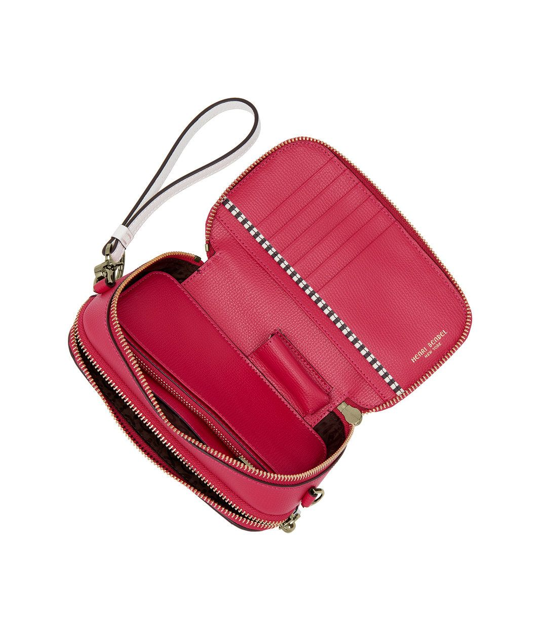 separation shoes c1205 18dba The HB Phone Wallet Leather Crossbody by Henri Bendel is the ...