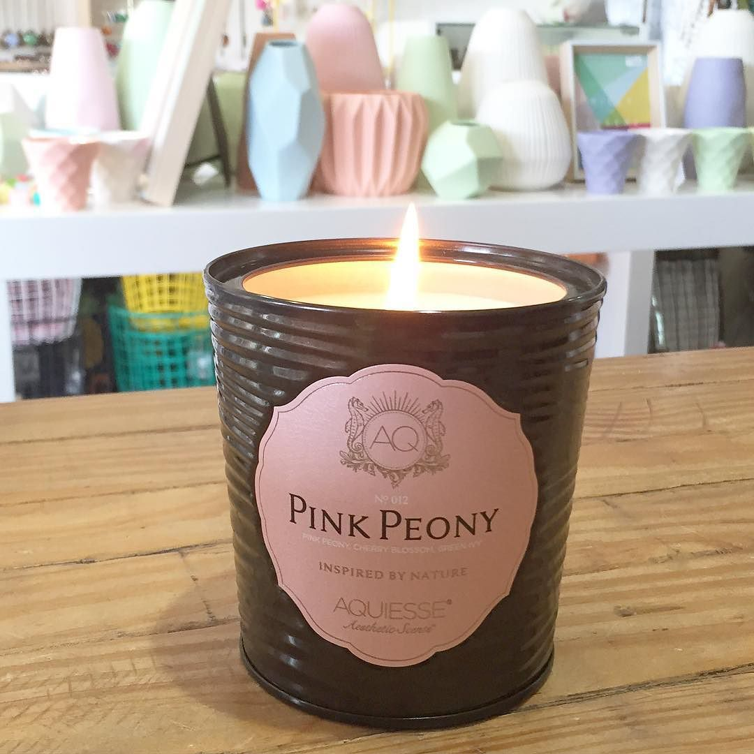 Burning my fav candle in-store. Smells so good. Aquiesse pink peony candle. #soycandle #madeinusa #peony #cuteshop #malingroad #cocoandchloe  @flowersforjane you would love this one. by cocoandchloe