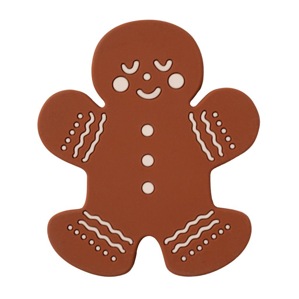 Target Holiday Gingerbread Man Silicone Teether Holiday Gift Ideas