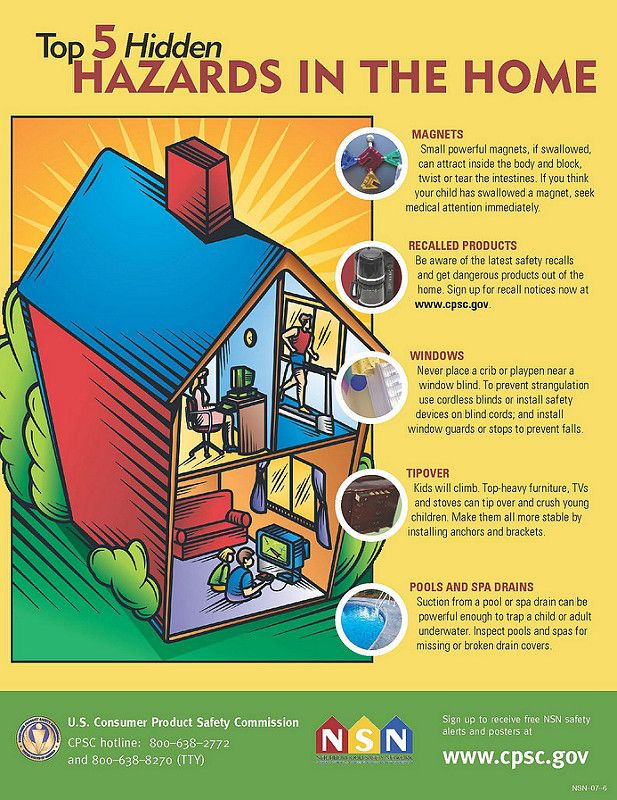 Keep your kids safe from these hidden hazards in your home