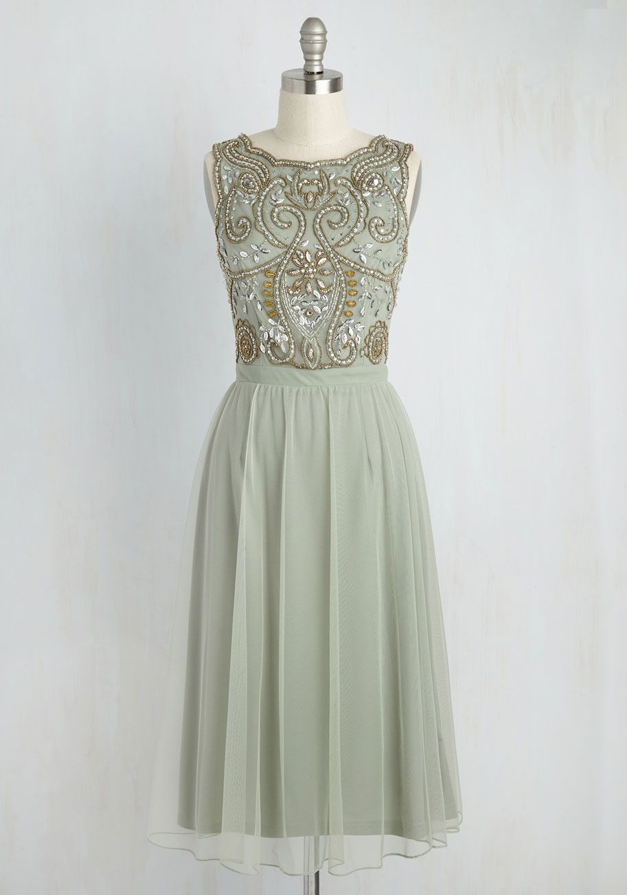 Have a Sway In the Matter Midi Dress. Styled in this sage green midi dress 3c626b9d3