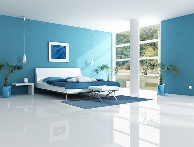 los colores ms relajantes para pintar un dormitorio
