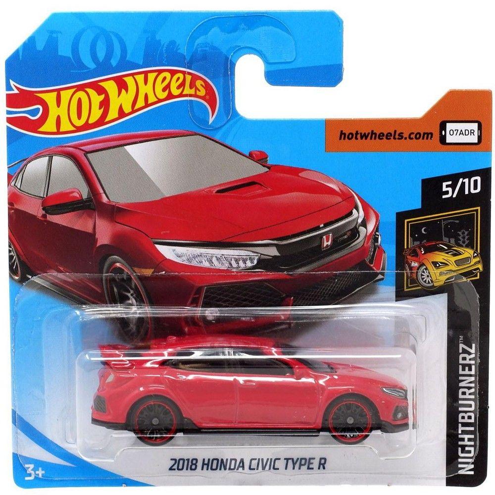 Hot Wheels Nightburnerz 2018 Honda Civic Type R Die Cast Car Fyb72 5 10 Honda Civic Type R Honda Civic Hot Wheels