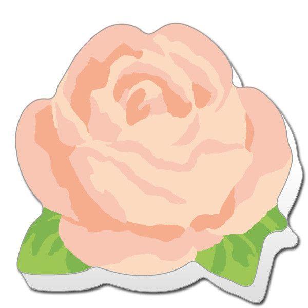 Greeting Life Die Cut Stick Memo Classic Rose