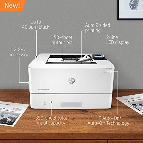 Hp Laserjet Pro M404dn Monochrome Laser Printer With Built In Ethernet Double Sided Printing Amazon Dash Repleni In 2020 Laser Printer Printer Printing Double Sided
