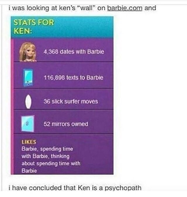 Ken is crazy