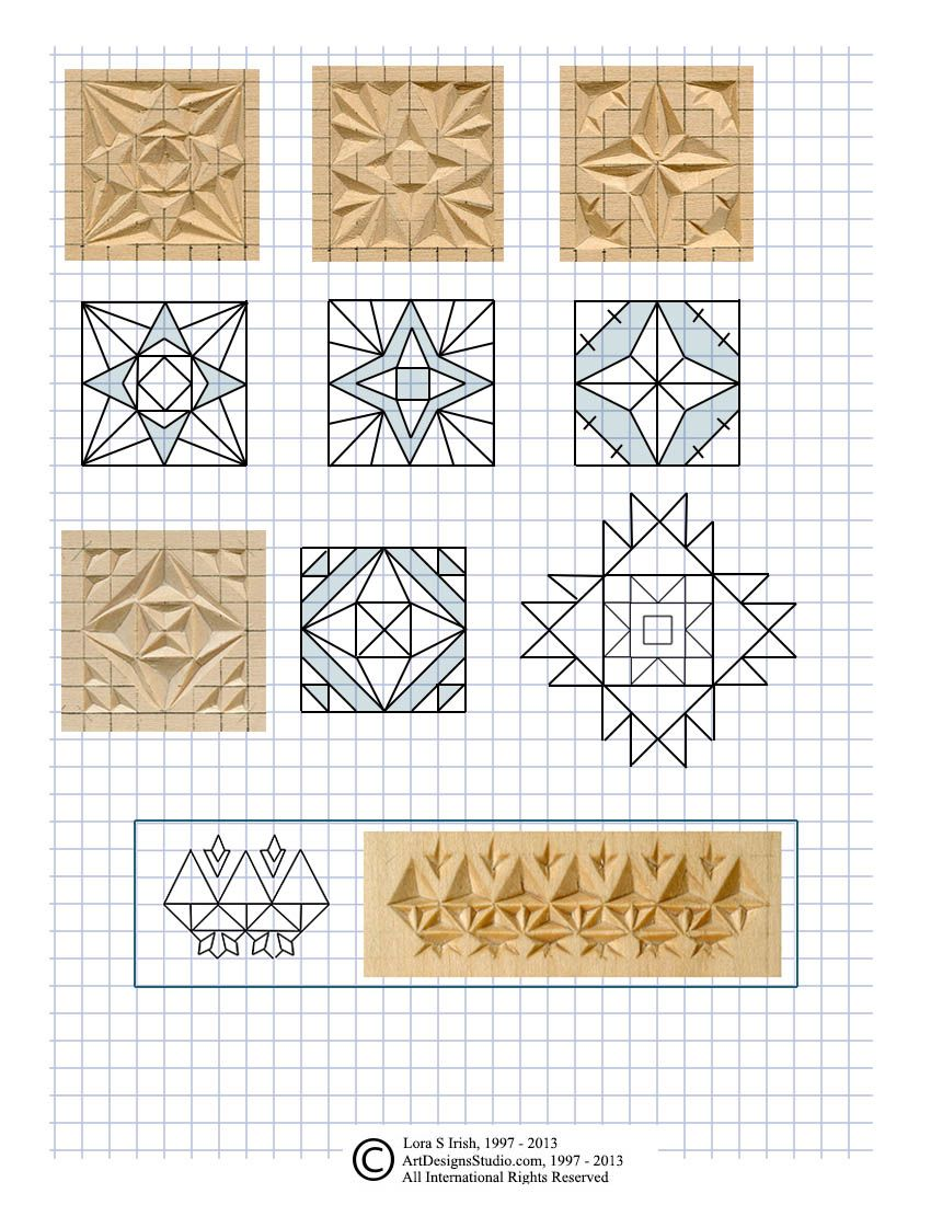 Free chip carving pattern by lora irish faragás