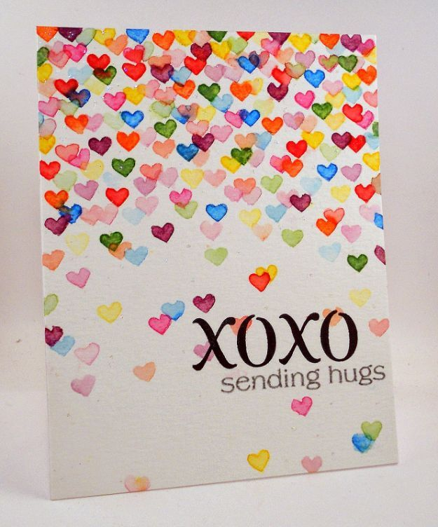 Card Making Ideas And Instructions Part - 49: 50 Thoughtful Handmade Valentines Cards