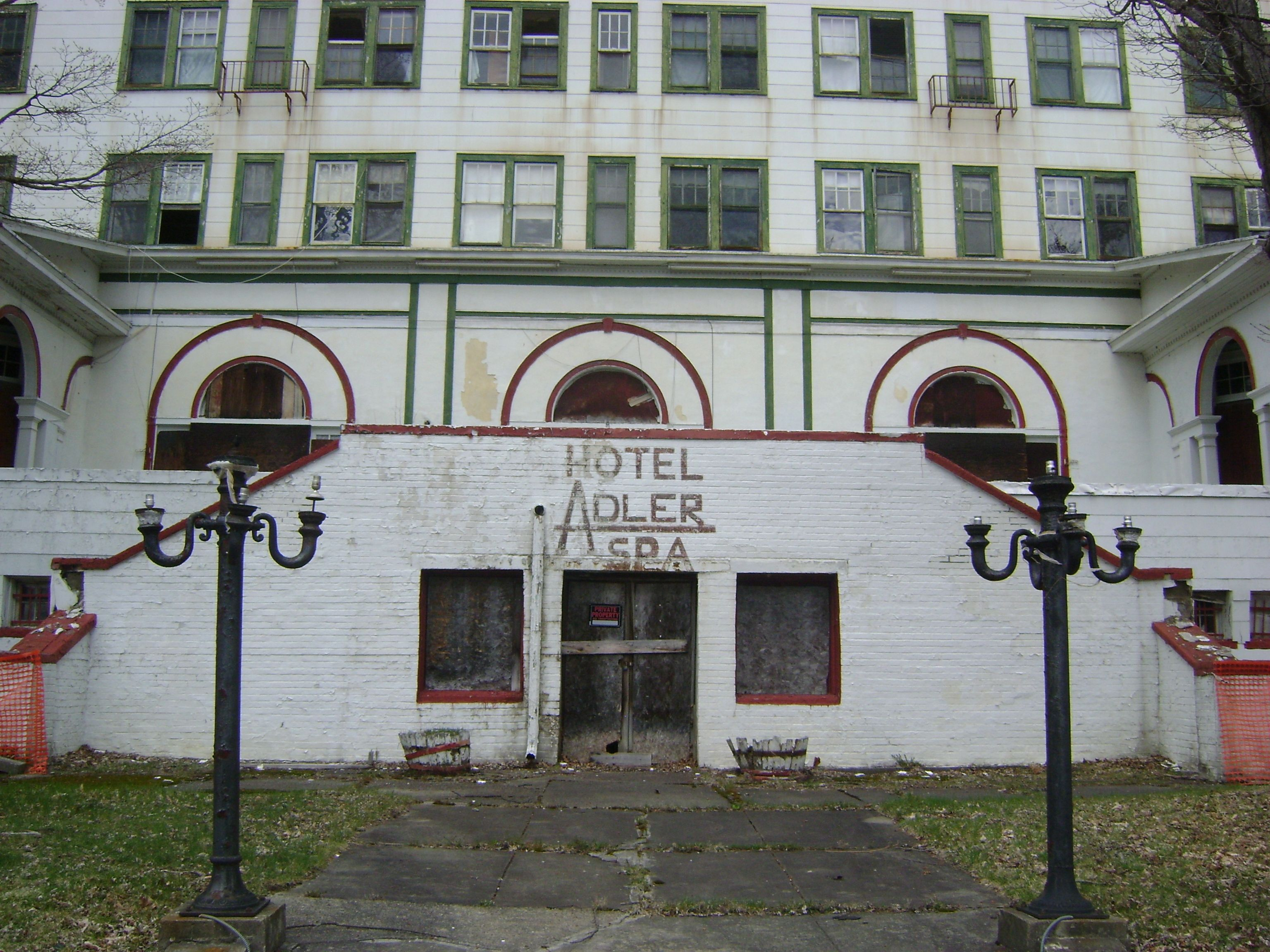 Hotel Adler Abandoned Places Upstate York