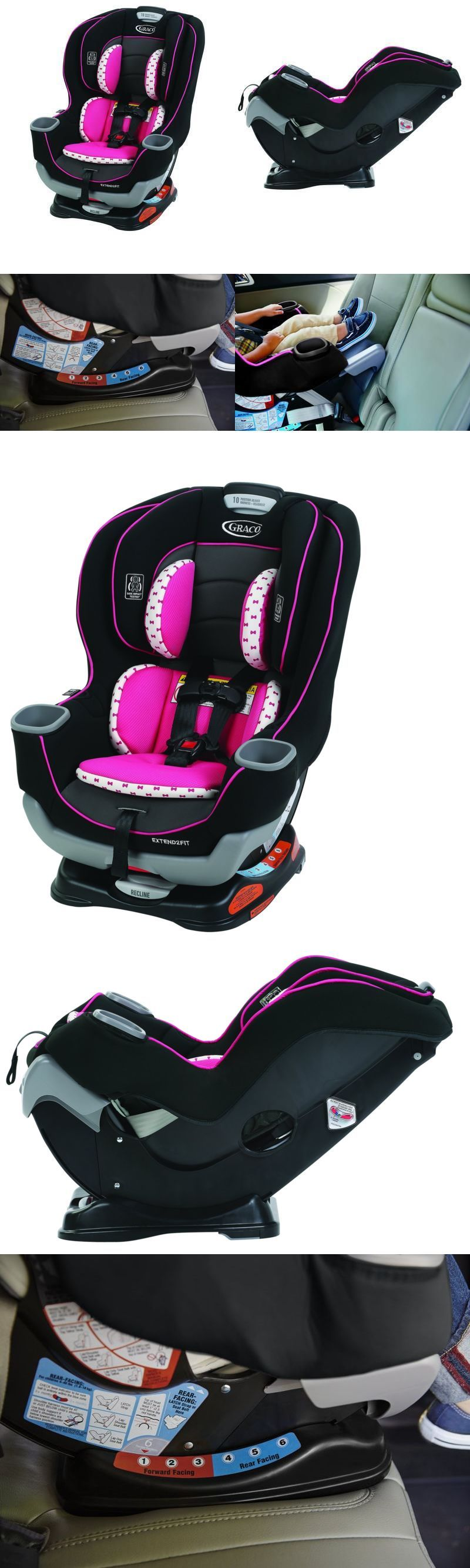 Convertible Car Seat Graco Extend2fit Baby Infant Vehicle Safety